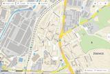 Cvičná plocha - Kasárna Židenice - mapa